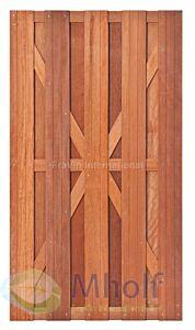Hardhouten tuindeur Kampen 180x100cm