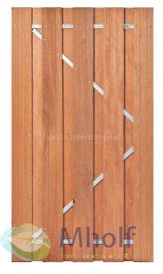 Hardhouten tuindeur Solide 180x100cm