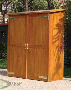 Tuinkast Montevideo hardhout 150x70 cm