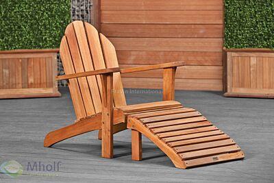 Bijpassende voetenbank voor relax stoel