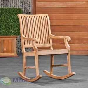 Relax schommelstoel teak