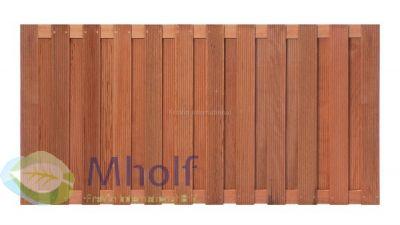 Hardhouten tuinscherm Sneek 90x180cm