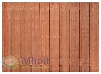 Hardhouten tuinscherm Nagele 130x180cm