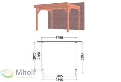 Trendhout-Aanbouwveranda-Ancona-(375x330cm)-Uitvoering-1-Mholf-1