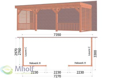 Aanbouwveranda_Ancona_7300x3300x2600mm_FraVin