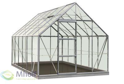 ACD tuinkas Oliver Intro Grow aluminium