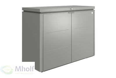 Biohort HighBoard 160 Kwartsgrijs Metallic