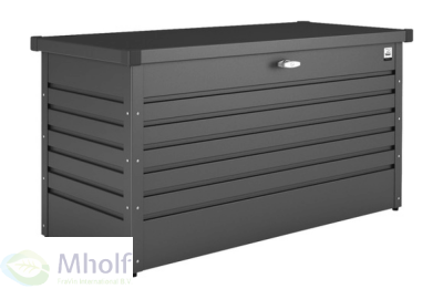 Biohort HobbyBox 130 Donkergrijs Metallic