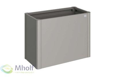 Biohort-moestuinbox-1x0.5-licht-grijs