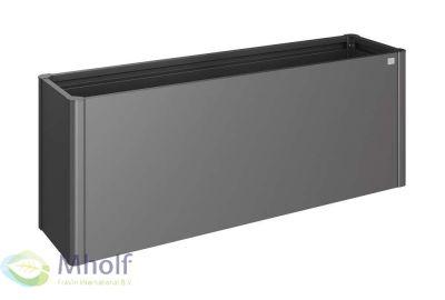 Biohort-moestuinbox-2x0.5-donkergrijs