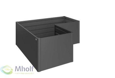 Biohort-Moestuinbox-Lvorm-Donkergrijs