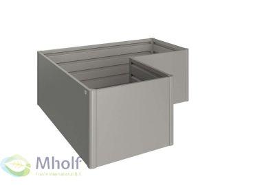 Biohort-Moestuinbox-Lvorm-lichtgrijs