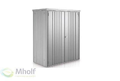 Biohort-tuinkast-gr.150-155x83cm-Zilvergrijs 2