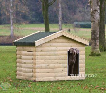 Tuindeco Hondenverblijf Bulldog 120x150cm