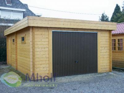 Maatwerk houten garage Cosmos 335