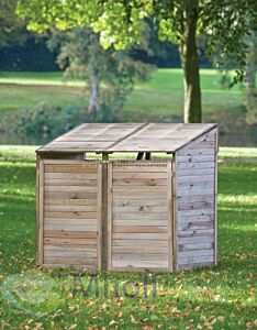 Containerberging dubbel 140x90x115/148cm