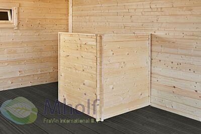 Containerombouw enkel 110x110x133