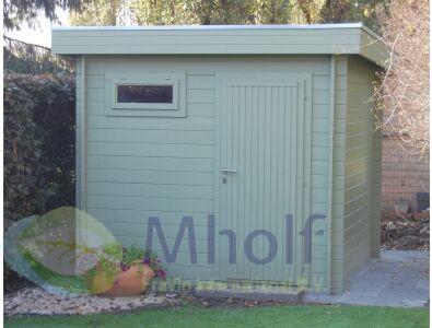 Maatwerk houten garage Cosmos 245