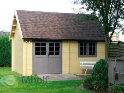 Maatwerk blokhut type Cottage 485