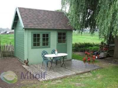 Maatwerk blokhut type Cottage 300
