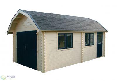 Maatwerk houten garage Colorado 300