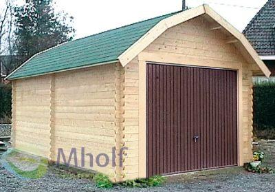 Maatwerk houten garage Colorado 395