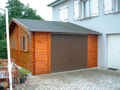 Maatwerk garage Classic - Jochem 414x504cm