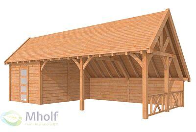 Hillhout-Kapschuur-Excellent-Zadeldak-750x400cm-Model-2
