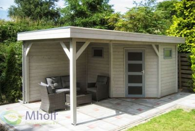 Hillhout tuinhuis Houtduif 3m