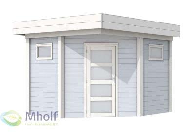 Woodvision blokhut Houtduif 300x300cm - 28mm