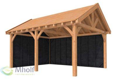 Hillhout_Buitenverblijf_zadeldak_Excellent_500x400cm_Model_1