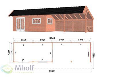 Kapschuur De Heerd 6 - 12000x5250x3350mm
