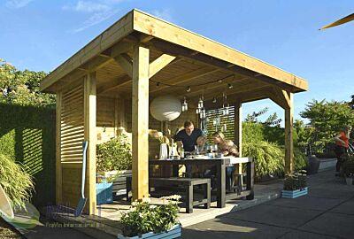 Hillhout Living Modulair Excellent compleet samengesteld
