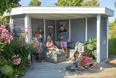 Hillhout Living Modulair Excellent hoekmodel compleet samengesteld