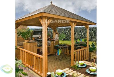 Lugarde-Vrijstaande veranda's-VV8