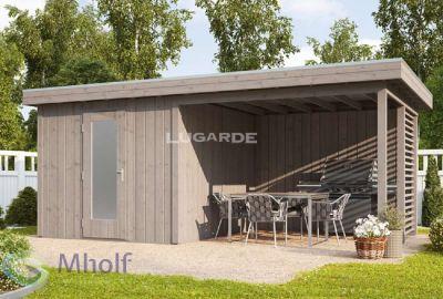 Lugarde_Tuinhuis_Vurenhout_Steigerhout_559x309cm_S1
