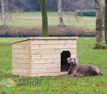 Tuindeco Hondenverblijf Teckel 93x130cm
