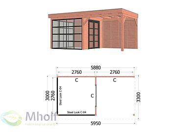 Trendhout Casa 3 - 5950x3300mm - Mholf.nl