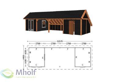Trendhout Kapschuur De Hoeve XL 12170mm (5)