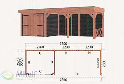Trendhout Refter XL - 6 -785x285