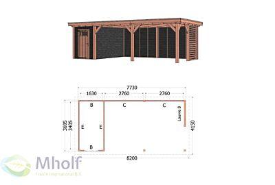 Trendhout siena 8- 8200x4150 Mholf.nl