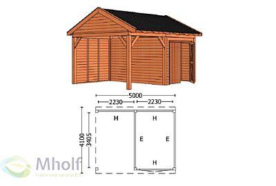 Trendhout Zadeldak L 5000mm (4)