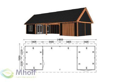 Trendhout Kapschuur De Hofstee XXL 14800mm (4)