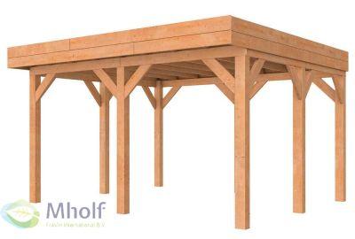 Hillhout-Buitenverblijf-Premium-Modulair-400x400cm-Standaard