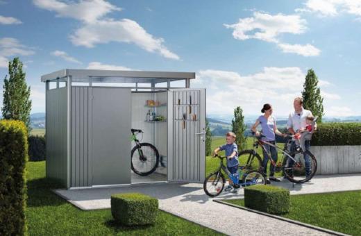 Biohort metalen tuinhuizen
